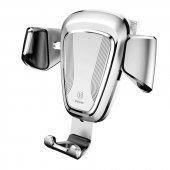 Baseus Gravity Araç Tutucu Gümüş