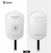 Baseus Qı Kablosuz Şarj Alıcısı Apple Gri And Beyaz