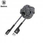 Baseus Confidant Kırılmaz Kablo Type C 2,4a 1m Siyah