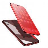 Baseus Touchable Kılıf iPhone X Kırmızı