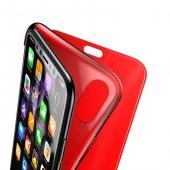 Baseus Touchable Kılıf iPhone X Kırmızı-2
