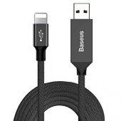 Baseus Yiven Kablo Apple 1,2m Siyah