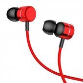 Baseus Encok Kablolu Kulaklık H04 Kırmızı