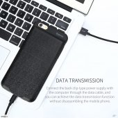 Baseus Plaid Şarj Bankası Kılıf 2500 Mah İphone6 6s Siyah