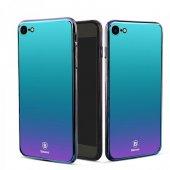 Baseus Cam Ayanlı İphone 7 8 Violet Mavi