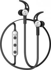 Baseus Licolor Magnet Bluetooth Kulaklık Gümüş Siyah