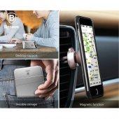Baseus iBracket Stantlı Kılıf iPhone 7 / 8 Gümüş-3