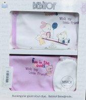 Bebitof Kız Bebek 828 Tahteravelli Nakışlı 5 Li Set İkinci 50