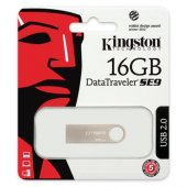 Kingston 16gb Usb2.0 Memory Metal Dtse9h 16gb