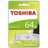 Toshiba Hayabusa 64gb Usb2.0 Thn U202w0640e4 Beyaz...