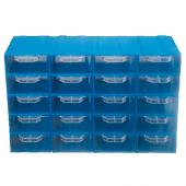 Akar Es 105 Plastik Çekmeceli Kutu (20' Li Paket)
