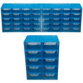 Akar Es 105 Plastik Çekmeceli Kutu (50' Li Paket)
