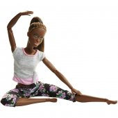 Barbie Sonsuz Hareket Yeni 2019 Oynar Eklem Yoga Bebek 4 Model