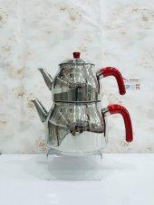 Remetta Lotus Maxi Çelik Maksi Boy Aile Boy Çaydanlık