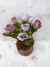 Yapay Çiçek Papatya Şakayık Gül Ağaç Tanzim 2adet