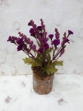 Yapay Çiçek 2 Adet Papatya Şakayık Gül Ağaç Tanzim