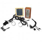 Güneş Enerji Şarjlı Çok Amaçlı El Feneri Seti  WATTON WT-309