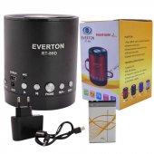 Everton RT-890BT USB-SD-FM-SW Bluetooth Radyo Müzik Kutusu  -2