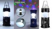 Kamp Lambası Renkli Disko Topu- Colorful Magic Camping Lights -2