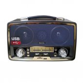 Kemai MD-1701BT USB/SD Bluetoothlu Şarjlı Büyük Radyo
