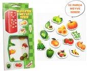 Manyetik Meyve Sebze Eğitici Oyun