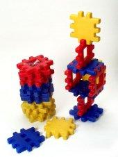 Plastık Yapı Blokları 12 Parça