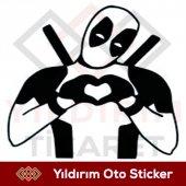 Deadpool Sticker, Deadpool Araba Sticker,oto Stick...