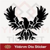 Oto Sticker Arma Sticker Kuş Sticker