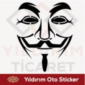 Maske Sticker*oto Sticker