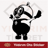 çılgın Hırsız Sticker Minion Sticker Oto Sticker...
