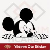 Mickey Mouse Sticker Oto Sticker Arma Sticker