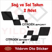 Cıtroen Sport Sticker,cıtroen Sport Arma Yıldırım ...