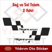 Megane Sport Sticker,megane Sport Arma Yıldırım Ti...