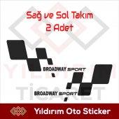 Broadway Sport Sticker,broadway Sport Arma Yıldırı...