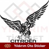 Kartal Cıtroen Sticker,cıtroen Arma Yıldırım Ticar...