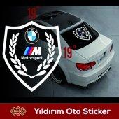 Bmw Motorsport Sticker (Arka Cam)kampanyalı Fiyat...