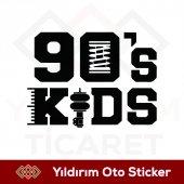 90s Kıds 90ların Çocukları Sticker