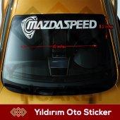 Mazda Speed Oto Sticker