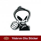 çıkartma Kuru Kafa Sticker Hediyeli Ürün