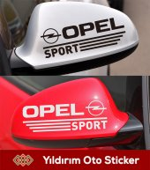 Opel Astra Sport Ayna Sticker