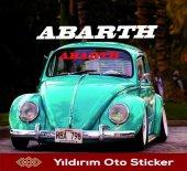 Yıldırım Ticaret Abarth Oto Sticker(56x13cm)