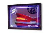 Buick Mavi Ledli Dekoratif Ayna