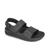 Ceyo 1200 4 Erkek Anatomik Sandalet Siyah