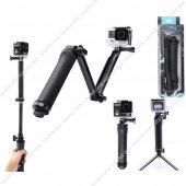 GoPro Yi Sony Eken Uyum Aksiyon Kamera Fonksiyon Monopod