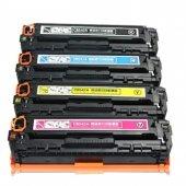 Hp Cb540 Cb543 Ce320 Cf210&crg716 Muadil Renkli Toner 4 Renk Takım