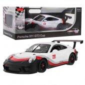 Uzaktan Kumandalı Rastar 1:14 Porsche 911 Gt3 Cup Araba-5