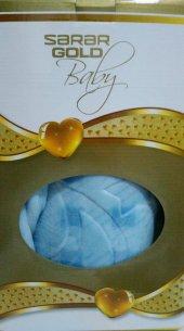 Sarar Gold Baby Vizon Kabartmalı Bebek Battaniyesi