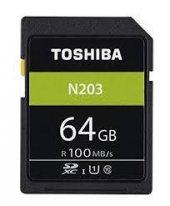 Toshiba 64gb Sdxc Hafıza Kartı C10 U1 100mb S...