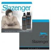 Slazenger Erkek Parfum Seti Active Sport Mavi