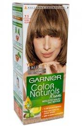 Garnier Color Naturals Saç Boyası 7.1 Küllü Kumral...
